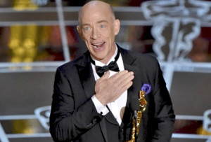 J.K. Simmons Wins for Whiplash, Debut Film by Damien Chazelle