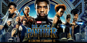 black panther poster horiontal