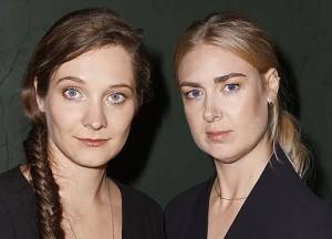 Filmmakers Lea Glob and Mette Carla Albrechtsen