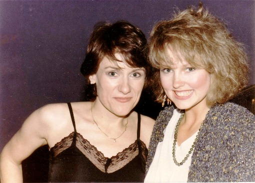 """This informal photo from a party in 1984 shows director Martha Coolidge """"Valley Girl"""" star Deborah Forman. Forman also had a small role in Coolidge's 1985 feature """"Real Genius,"""" celebrating the 30th anniversary of its theatrical release this week. Photo provided"""