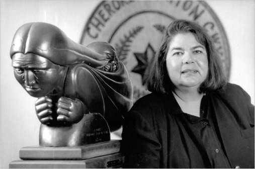 "The upcoming PBS documentary ""Mankiller."" will tell the life story of the first woman elected chief of a major American Indian tribe, the Cherokee Nation. Photo provided"