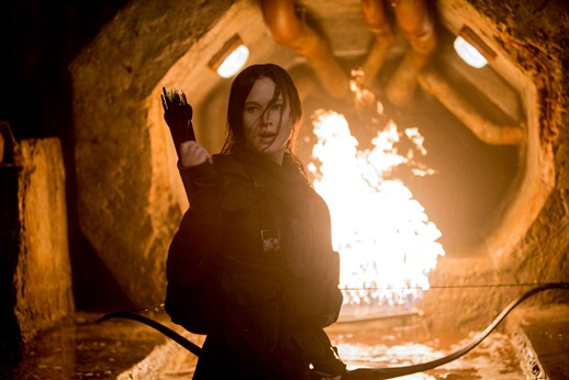 "Jennifer Lawrence stars in ""The Hunger Games: Mockingjay - Part 2."" Lionsgate photo"