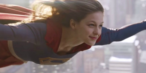 "Melissa Benoist plays the title role in the CBS series ""Supergirl."" Photo provided"