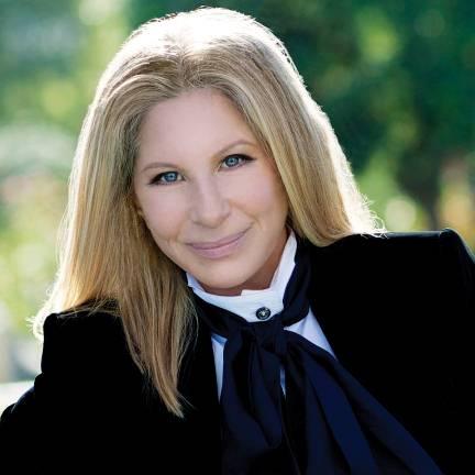 Barbra Streisand. Photo provided