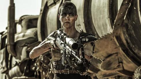 "Charlize Theron plays Furiosa in ""Mad Max: Fury Road"" Warner Bros. photo"