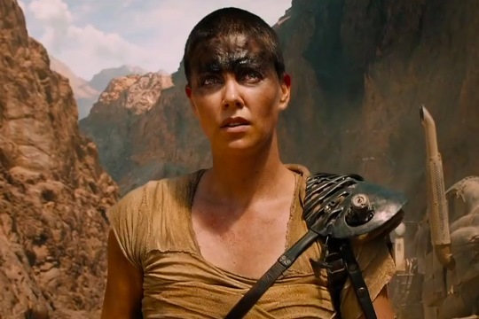 "Charlize Theron stars in ""Mad Max: Fury Road."" Warner Bros. photo"