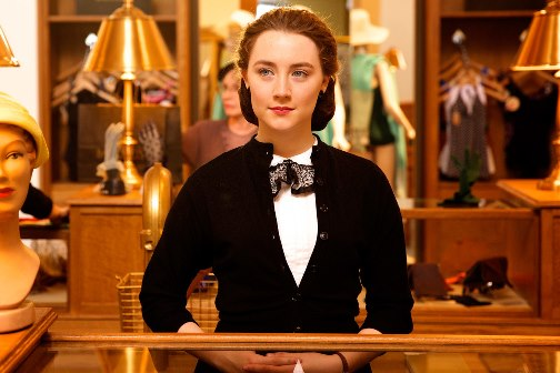 "Saoirse Ronan as Eilis in a scene from the film, ""Brooklyn."" Fox Searchlight photo"