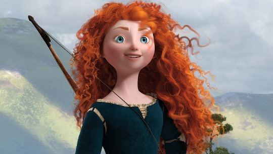 """Female film critics may have differing perspectives on movies about female characters, like Disney/Pixar's """"Brave,"""" than the male movie critics that dominate the industry. Disney/Pixar photo"""