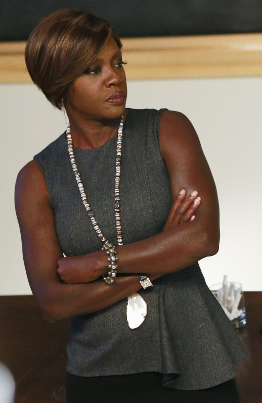 "Viola Davis appears in her Emmy-winning role as Annalise Keating in ""How to Get Away with Murder."" ABC photo"