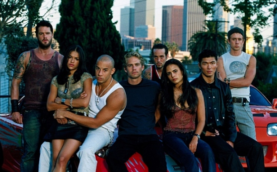 "2001's ""The Fast and the Furious"" boasted an ethnically diverse cast, setting the trend for the rest of the series. Universal Pictures photo"