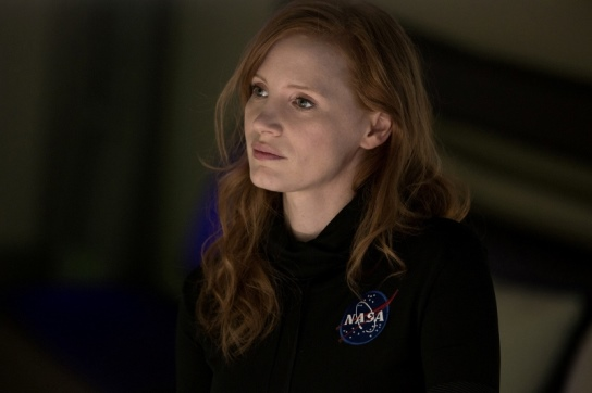 "Jessica Chastain appears in ""The Martian."" 20th Century Fox photo"
