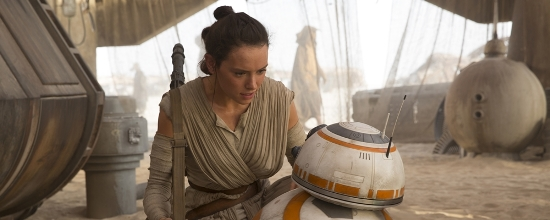 """Daisy Ridley stars as Rey in """"Star Wars: The Force Awakens."""" Lucasfilm photo"""