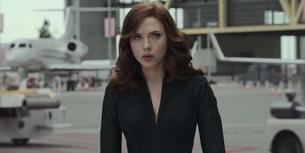Scarlett Johansson plays Black Widow in the Marvel Cinematic Universe. Marvel Studios photo