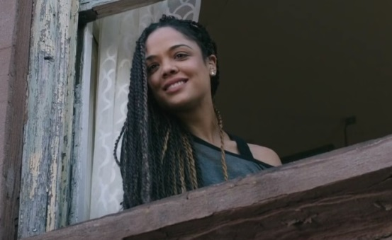 """Tessa Thompson appears in a scene from """"Creed."""" Warner Bros. photo"""