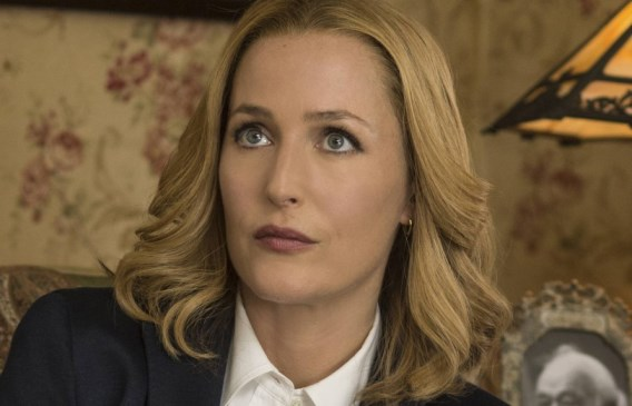 """Gillian Anderson appears in """"The X-Files."""" 20th Century Fox Television"""