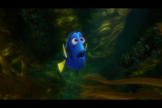 """Ellen DeGeneres voices Dory in """"Finding Dory."""" Disney/Pixar photo"""