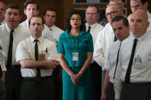 "Taraji P. Henson, center, stars as Katherine Johnson in ""Hidden Figures."" 20th Century Fox photo"