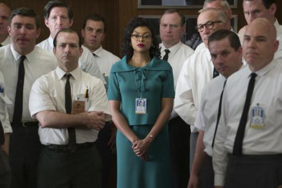"Taraji P. Henson as Katherine Johnson, center, in a scene from ""Hidden Figures."" Twentieth Century Fox photo"