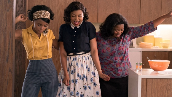 "From left, Janelle Monae, Taraji P. Henson and Octavia Spencer star in a scene from ""Hidden Figures."" 20th Century Fox photo"