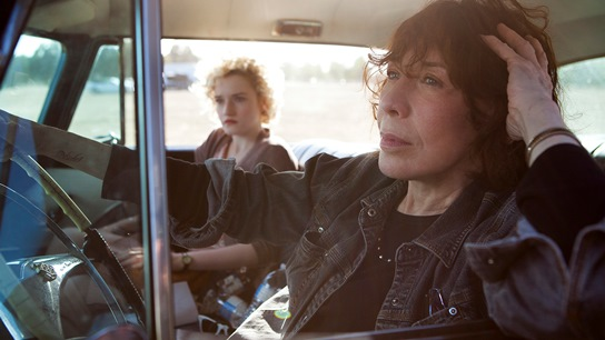"""Lily Tomlin, right, and Julia Garner appear in """"Grandma."""" Sony Pictures Classics photo"""