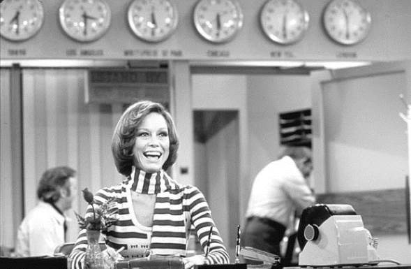"""Mary Tyler Moore appears on the """"Mary Tyler Moore Store."""" CBS photo"""