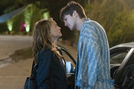 """Natalie Portman and Ashton Kutcher appear in the 2011 movie """"No Strings Attached."""" Paramount Pictures photo"""