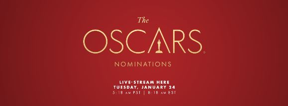 oscars nominations banner