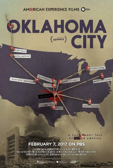 "The new PBS documentary ""Oklahoma City"" explores the Oklahoma City bombing and how the anti-government movement of the day galvanized bomber Timothy McVeigh. Poster image provided by PBS"