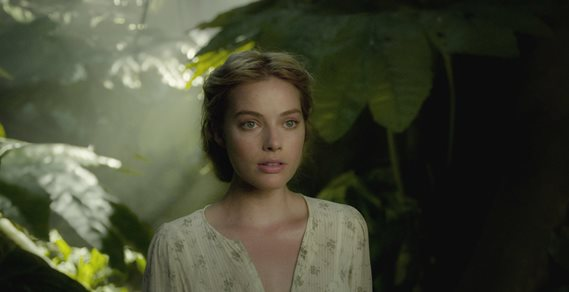 "Margot Robbie appears in ""The Legend of Tarzan."" Warner Bros. Pictures photo"