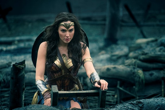 "Gal Gadot stars in ""Wonder Woman."" Warner Bros. photo"