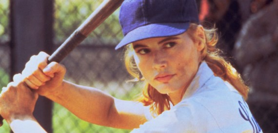 "Geena Davis stars in 1992's ""A League of Their Own."" Columbia PIctures photo"