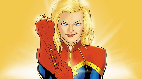 Captain Marvel will finally come to the big screen in 2019 in Marvel Studios' first female-led movie in its blockbuster Marvel Cinematic Universe. Marvel photo