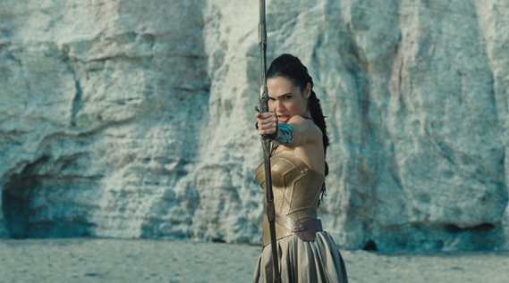 "Gal Gadot stars in ""Wonder Woman."" Warner Bros. photo"