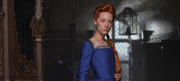 "Two-time Oscar nominee Saoirse Ronan (""Atonement,"" ""Brooklyn"") plays the title role in the upcoming period drama ""Mary, Queen of Scots."" Focus Features photo"