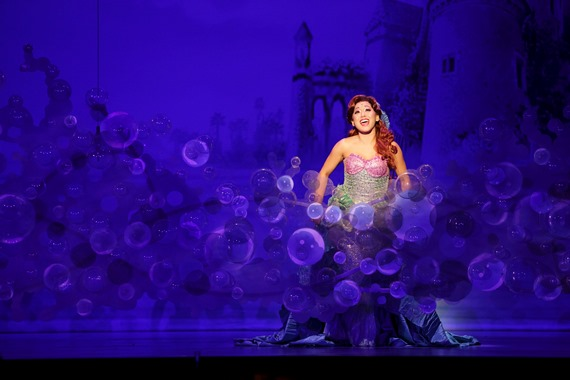 "Diana Huey appears in a performance of the current nationally touring production of Disney's ""The Little Mermaid"" the musical. Photo by Mark & Tracy Photography"