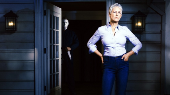 Jamie Lee Curtis is returning to Halloween, the horror franchise that helped to launch her career, in a new film due out in 2018. Photo via Twitter