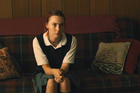 "Saoirse Ronan appears in a scene from ""Lady Bird."" A24 photo"