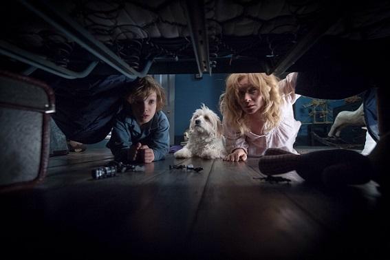 "Noah Wiseman, left, and Essie Davis star in ""The Babadook."" IFC Films photo"