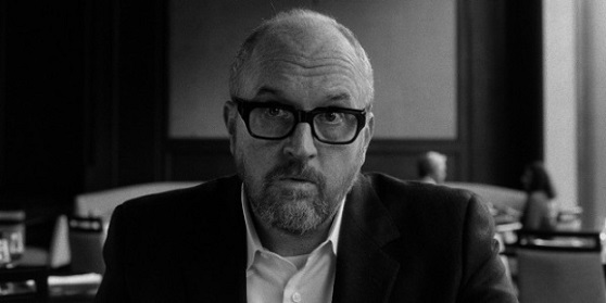"Louis C.K. appears in his shelved film ""I Love You, Daddy."" The Orchid photo"