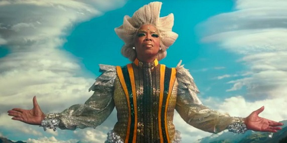 "Oprah Winfrey appears in a scene from the 2018 film ""A Wrinkle in Time."" Disney photo"
