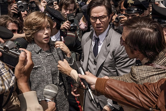 "Michelle Williams and Mark Wahlberg appear in ""All the Money in the World."" Sony Pictures Entertainment photo"