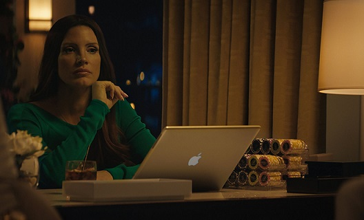 """Jessica Chastain appears in a scene from """"Molly's Game."""" STX Entertainment photo"""
