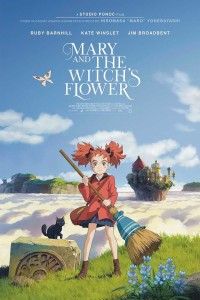 mary and witches flower poster