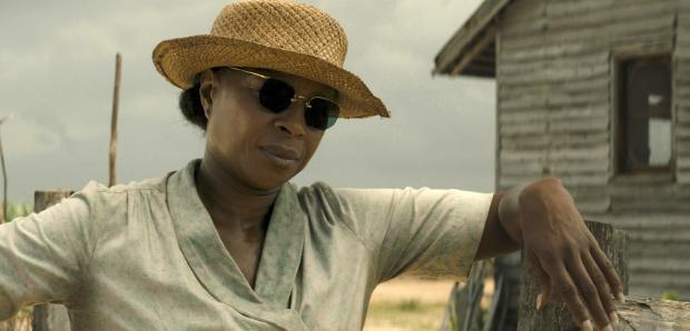 "Mary J. Blige appears in a scene from ""Mudbound."" Netflix photo"