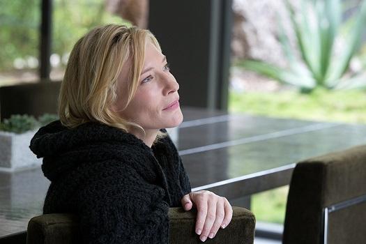 """Acclaimed actor Cate Blanchett, shown in the 2015 film """"Knight of Cups,"""" is the president of the 2018 Cannes film festival jury. Broad Green Pictures photo"""