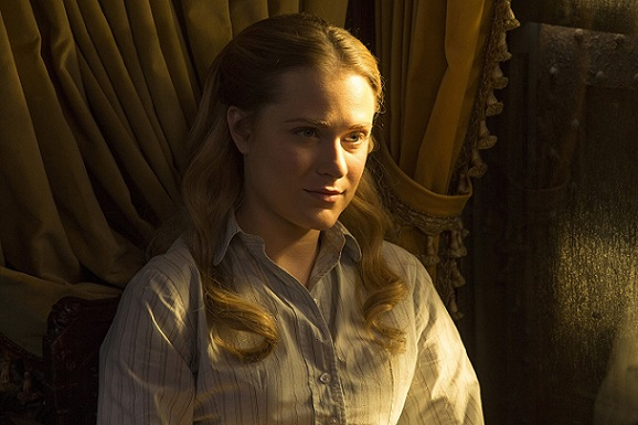 "Evan Rachel Wood appears in ""Westworld."" HBO photo"
