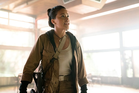 "Gina Rodriguez appears in the movie ""Annihilation."" Paramount Pictures photo"