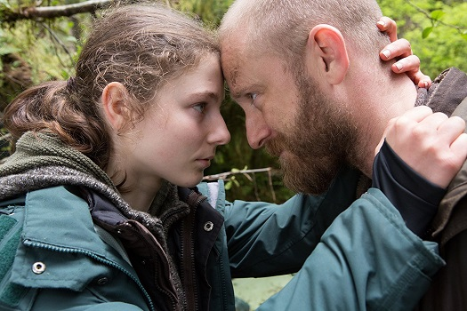 "Thomasin McKenzie, left, and Ben Foster appear in Debra Granik's ""Leave No Trace."" Sundance photo"