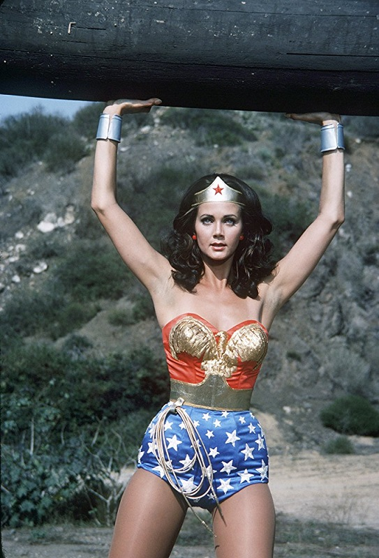 "Lynda Carter appears in the 1970s ""Wonder Woman"" TV series. ABC photo"