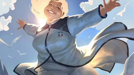 """Sony Pictures has ordered a live-action adaptation of """"Faith,"""" the first prominent plus-sized female superhero to grace the pages of Valiant Comics. Image provided"""